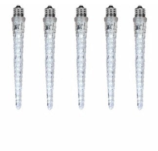 12 Inch Static or Animated Icicle Bulb