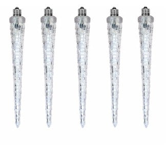 18 Inch Static or Animated Icicle Bulb