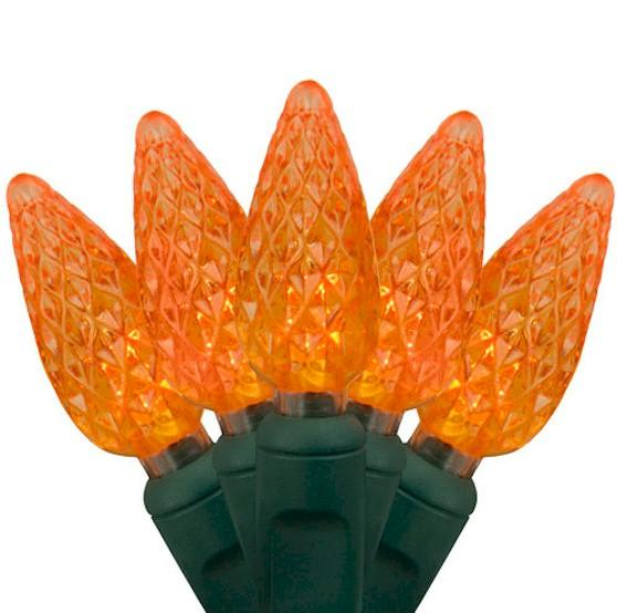 70 Orange C6 Strawberry - Premium - LED Christmas Lights