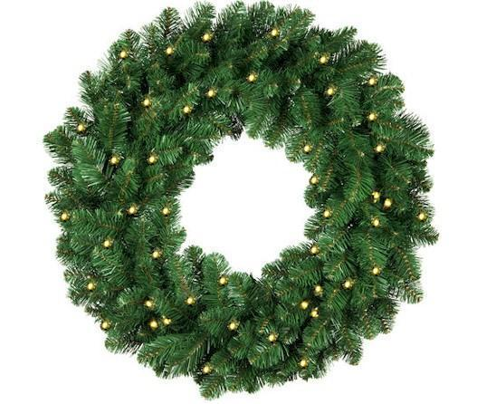 "36"" LED Christmas Wreath - Forever LED Christmas Lights"