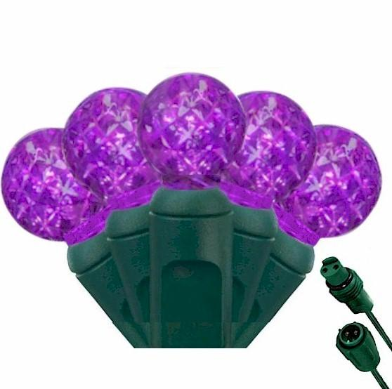 G12 Purple 25 LED Berry Lights – Commercial String Lights