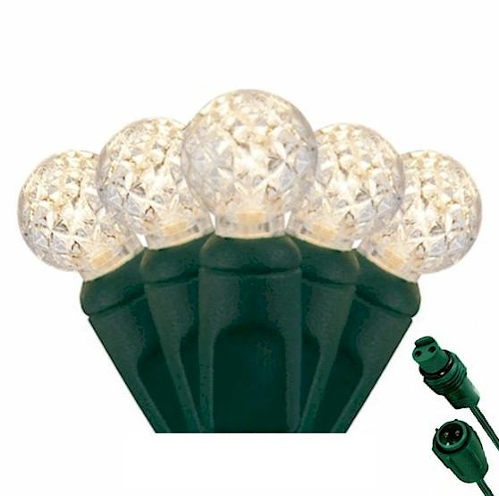 G12 Warm White 25 LED Berry Lights – Commercial String Lights