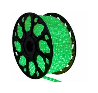 Green LED Rope Lighting