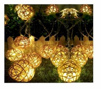 LED Rattan Ball Lights
