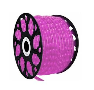 Pink LED Rope Lighting