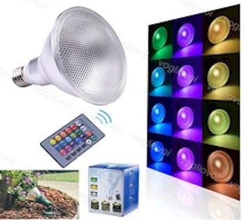 New RGB LED Flood Light