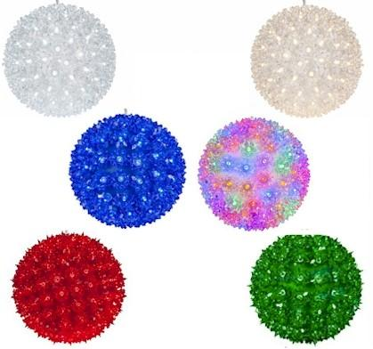 "6"" LED Light Spheres - Forever LED Christmas Lights"