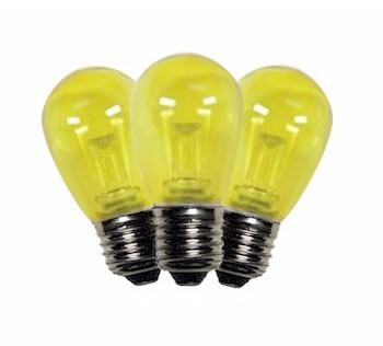Yellow Patio LED S14-  T50 Party Lights