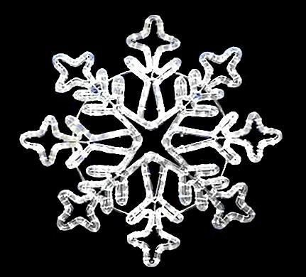 Aspen LED Snowflakes - Forever LED Christmas Lights