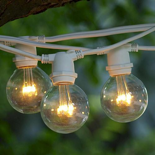 G-50 Warm White Patio Bulbs