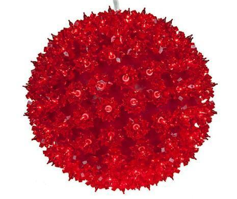 "7.5"" LED Light Spheres - Forever LED Christmas Lights"