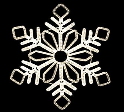 Winter Led Snowflakes