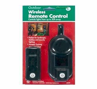 Wireless Remote Light Timer