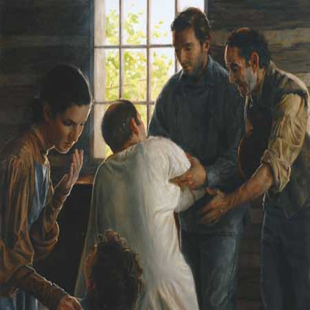 Joseph Smith Healing an Entire Town