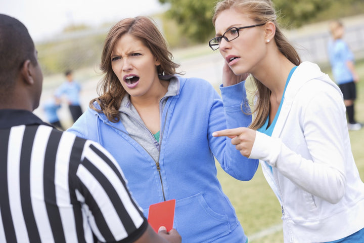 It's not just a game. How screaming parents and coaches affect our youth.