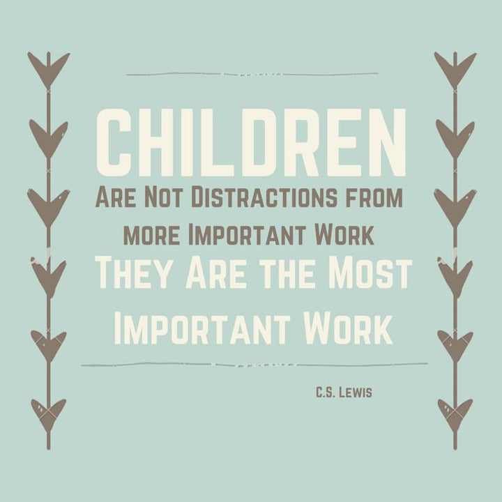 Children - a Most Important Work