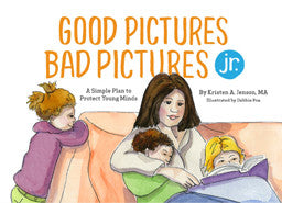 Book Review- Good Pictures Bad Pictures jr.