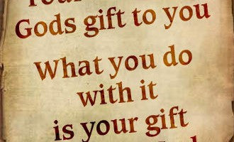 Gifts and Talents God Has Given Men and Women