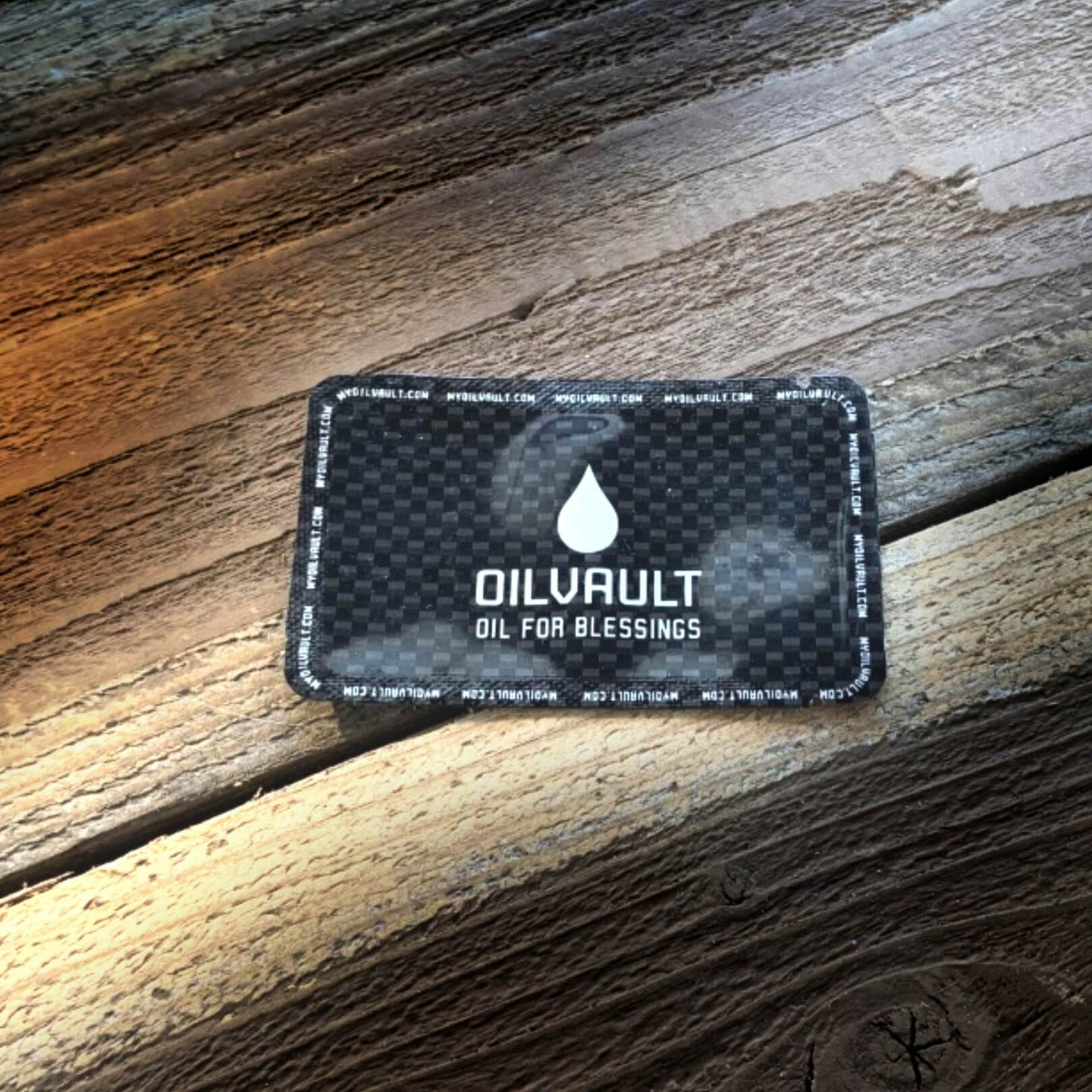 Oil Vials that go in your wallet.