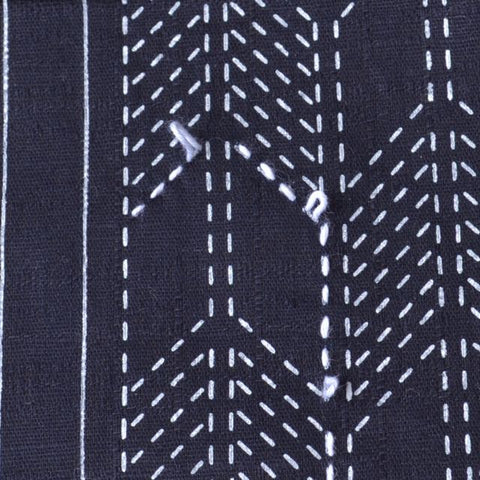 sashiko stitching, leave some slack in your thread