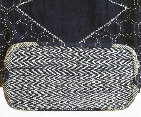 white sashiko thread