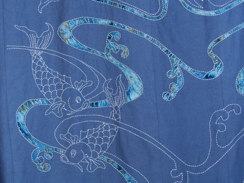 sashiko and applique shower curatian cropped photo