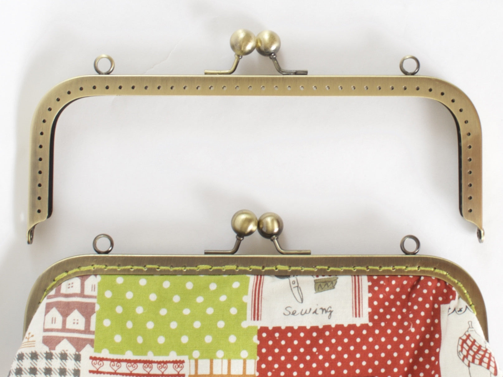 Bk2162 Clasp Purse Frame Amp Pattern A Threaded Needle