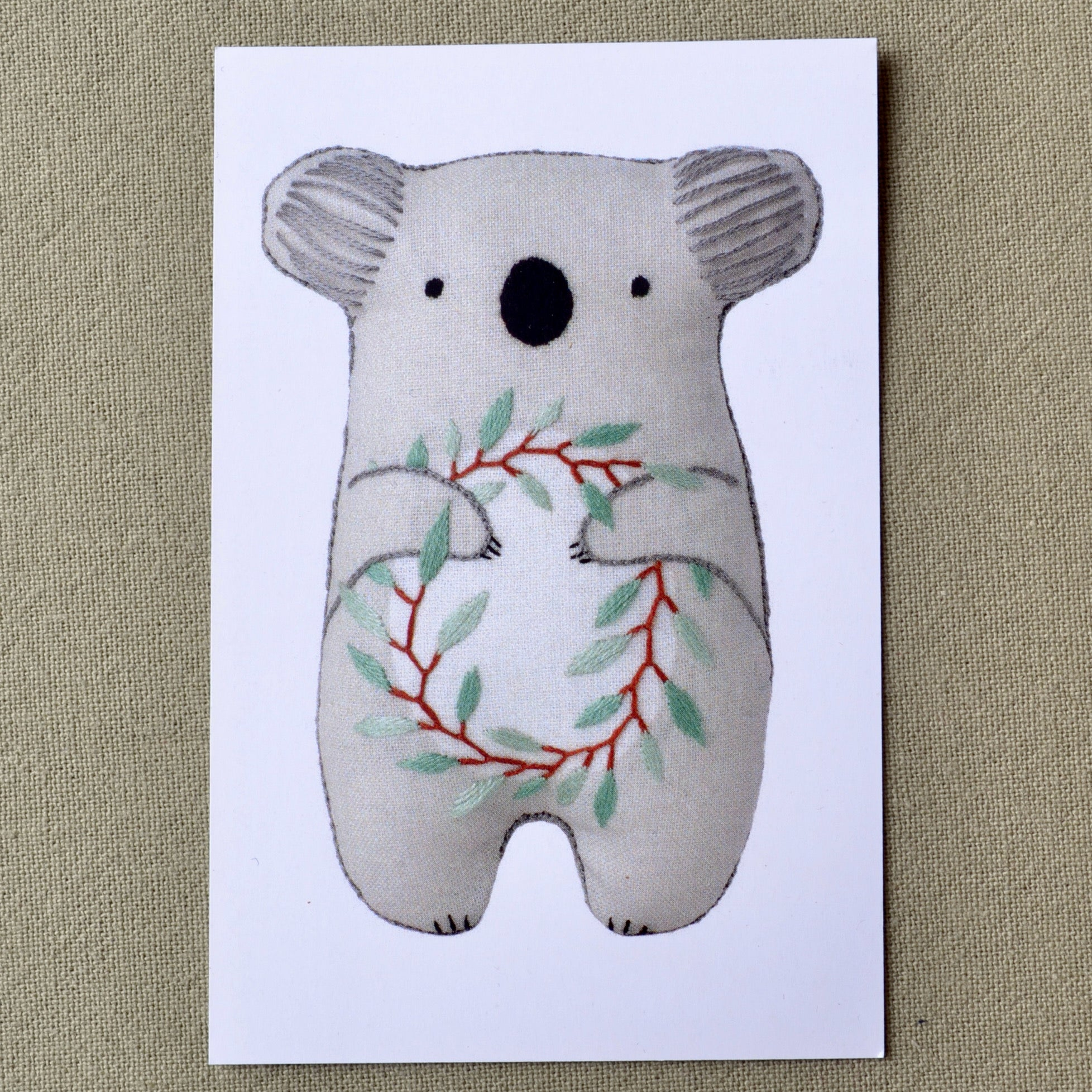 Kiriki embroidery kit, Koala