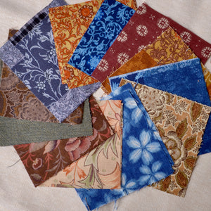 Japanese fabrics for boro stitching