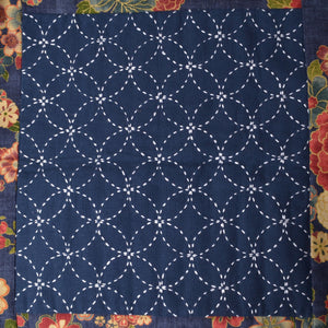Traditional Sashiko Design - Linked Circles