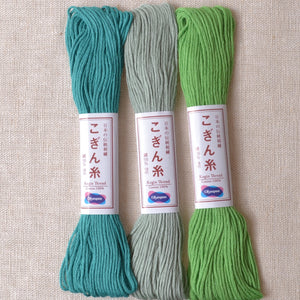 Olympus Kogin Threads blue green