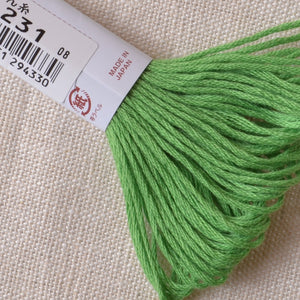 Kogin Thread Bright Green