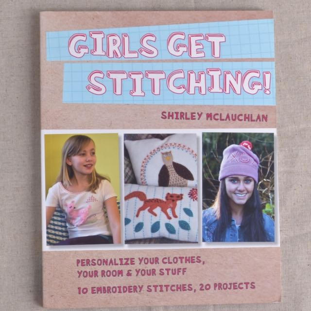 Girls Get Stitching by Shirley McLaughlan