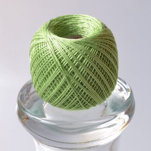 Thin Sashiko Thread,  Bright Green