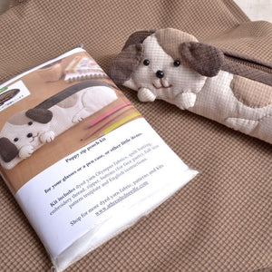 puppy dyed yarn fabric kit