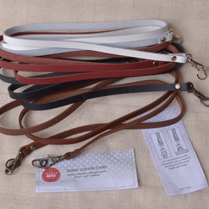bag straps with swivel clips and D rings