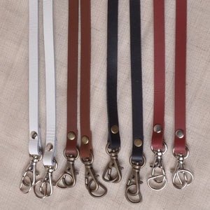 bag straps with hardware