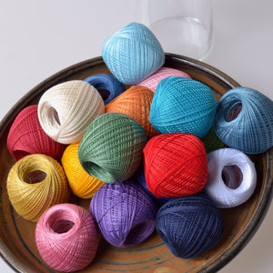 Thin sashiko thread