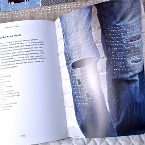slow stitching mending sashiko boro denim