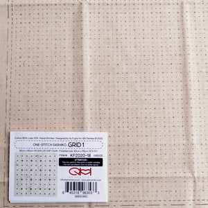 dotted graph sashiko cloth