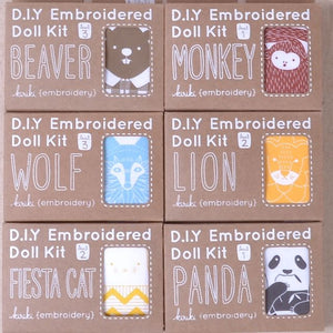 Kiriki embroidery kits