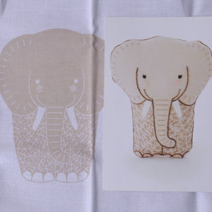 embroidered elephant kit