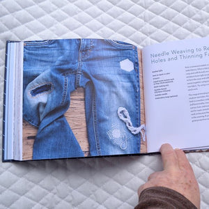 visible mending  repair your Jeans