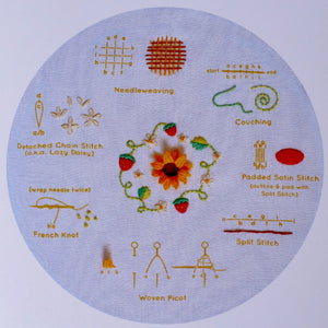 Embroidery Kit, Summer