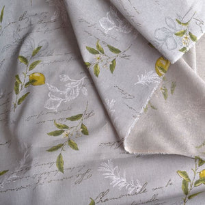 Lecien Natural Elegence linen cotton fabric