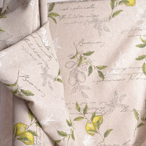 home sewing, home decor, linen cotton fabric