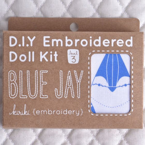 Kiriki embroidery kits Blue Jay