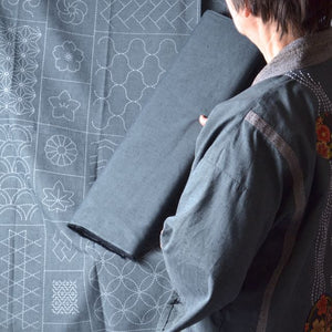 Tsumugi fabric, Japanese cotton fabric