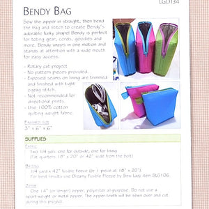 Bendy Bag Pattern