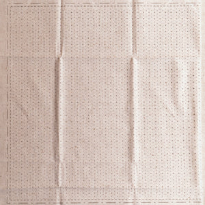 sashiko pre-printed wash away cloth